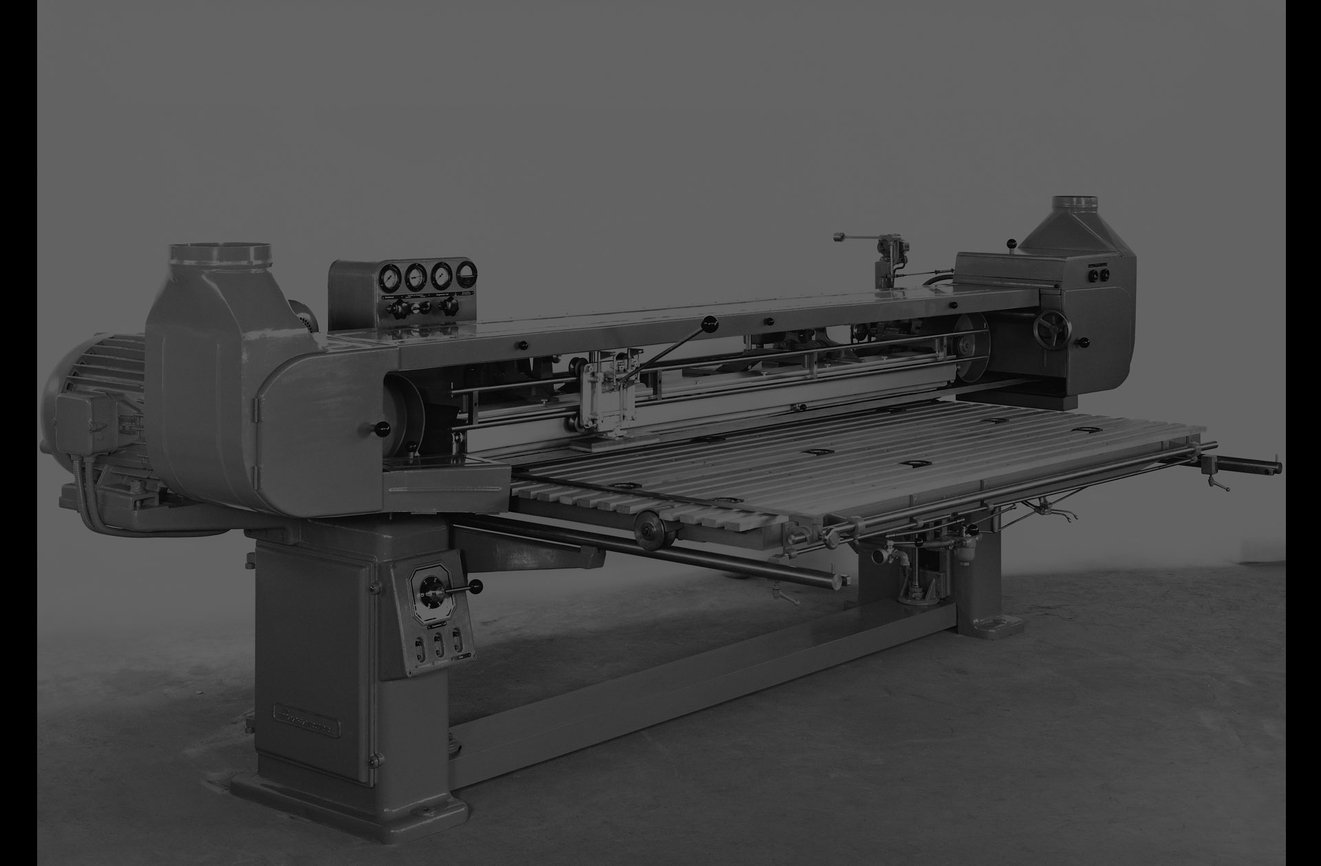 Semi-automatic long-belt sanding machine BA 2
